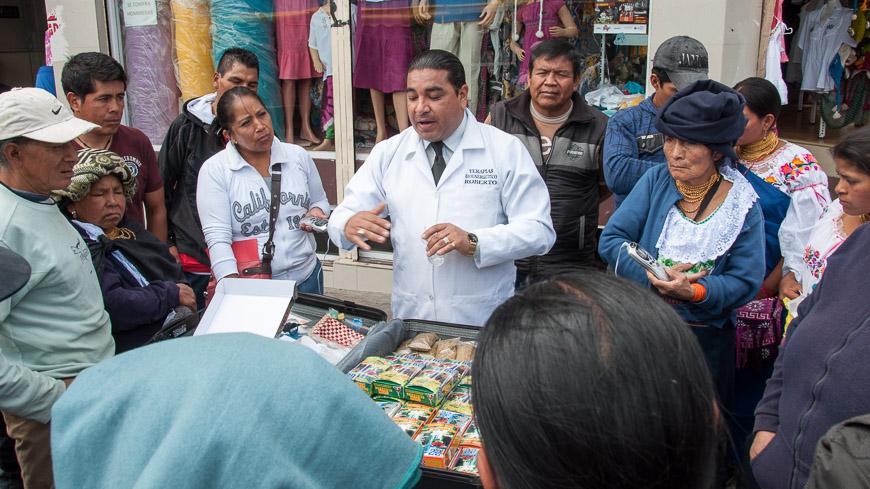 Bild: Markt, Otavalo, Ecuador
