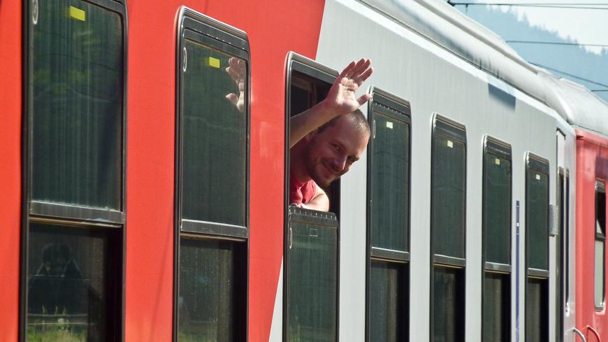 Bild: Abschied in Kindberg