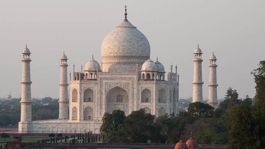 Bild: Taj Mahal in Agra, Indien
