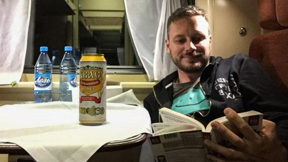 In der Transsibirischen Eisenbahn herrscht Alkoholverbot. Die Alternative: Kwas