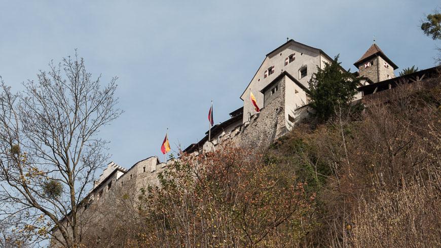 Bild: Schloss Vaduz in Liechtenstein