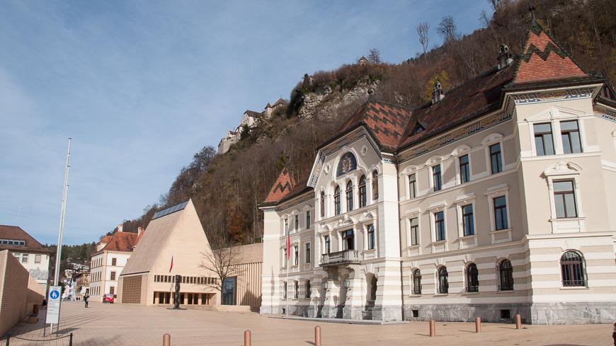 Bild: Städtle - Vaduz, Liechtenstein