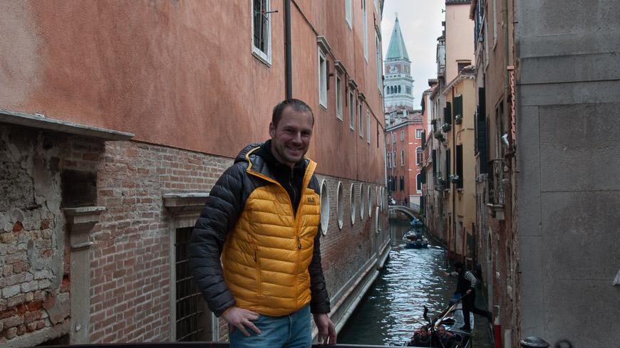 Bild: Gerhard Liebenberger in Venedig