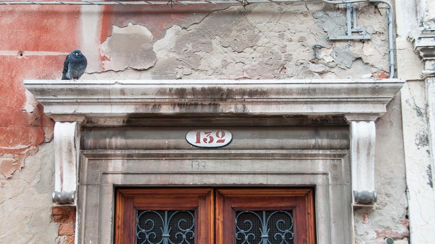 Bild: Haustüre Venedig