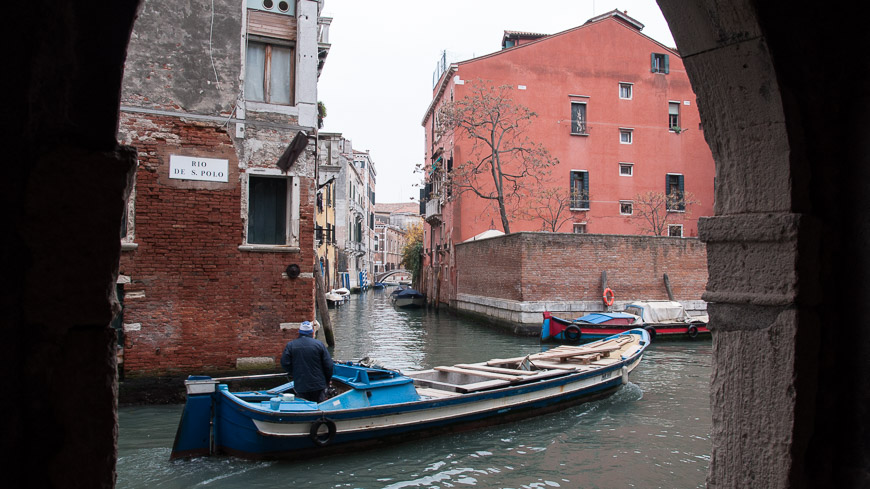 Bild: Kanal Venedig San Polo