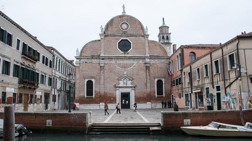 Bild: Kirche in Venedig