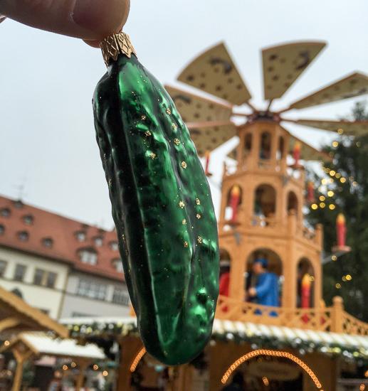 Grüne Gurke Im Weihnachtsbaum.Auf Den Spuren Unserer Weihnachtsbräuche In Thüringen Anders Reisen