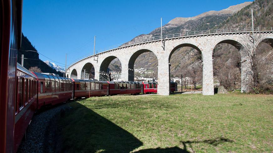 Bild: Kreisviadukt in Brusio