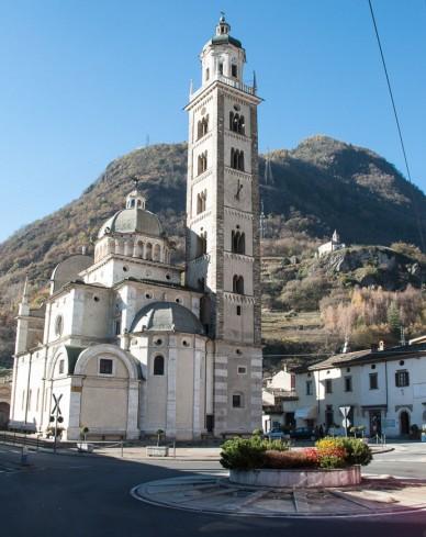 "Bild: Wallfahrtskirche ""Madonna di Tirano"""