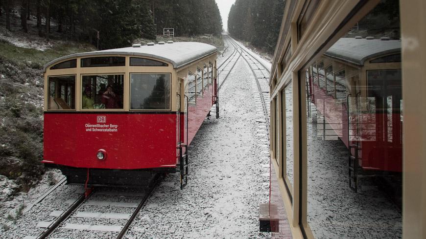 Bild: Oberweissbacher Bergbahn im Winter