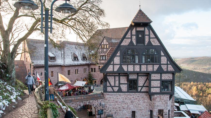 Bild: Wartburg in Eisenach