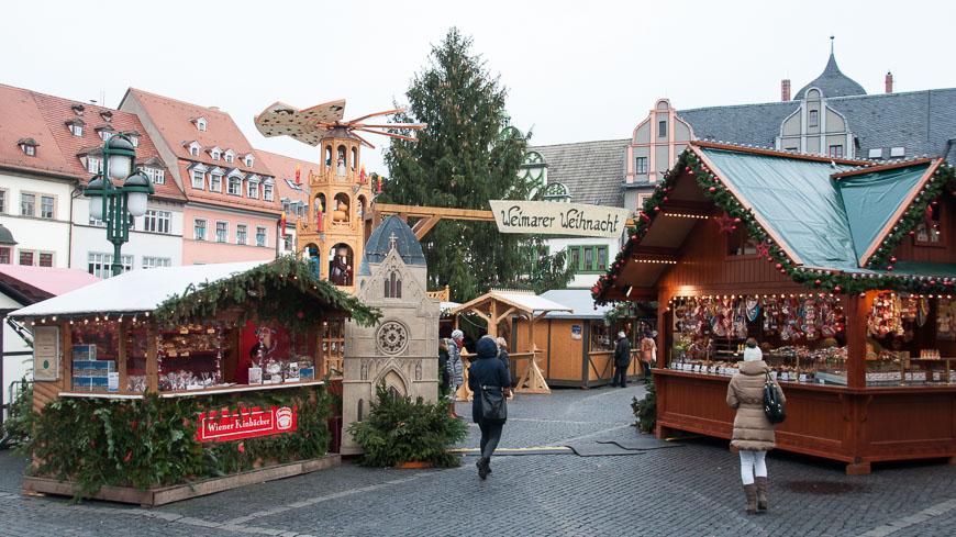 Bild: Weimarer Weihnacht am Marktplatz