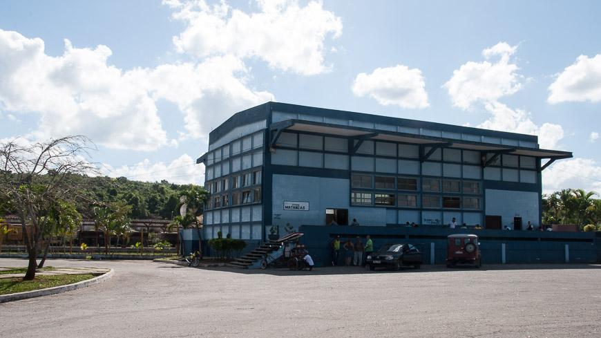 Bild: Bahnhof in Matanzas - Kuba