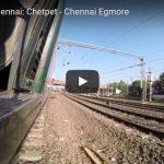 [Video] Vorortezug Chennai: Chetpet - Chennai Egmore