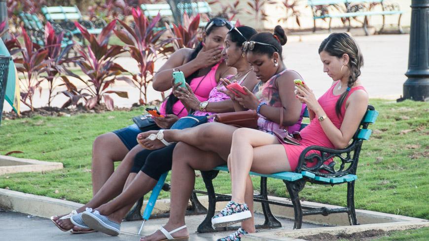 Bild: Park mit WLAN in Matanzas - Kuba