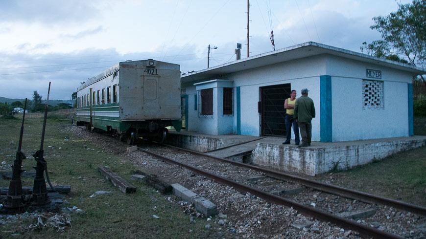Bild: Zug in Kuba bei Meyer