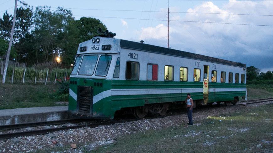 Bild: Bild: Zug in Kuba bei Meyer