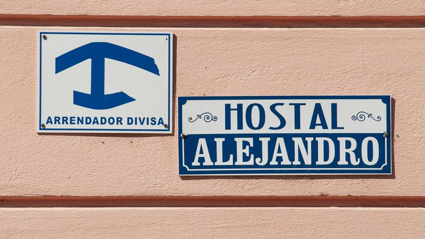 """Bild: """"Arrendador Divisa"""" - Casas Particular für Devisen"""