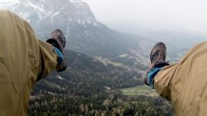 Freudenschreie in Südtirol: Das erste Mal Tandem-Paragliding