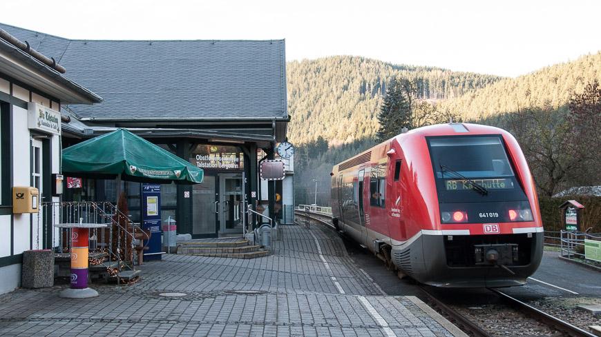 Bild: DB Bahnhof Obstfelderschmiede