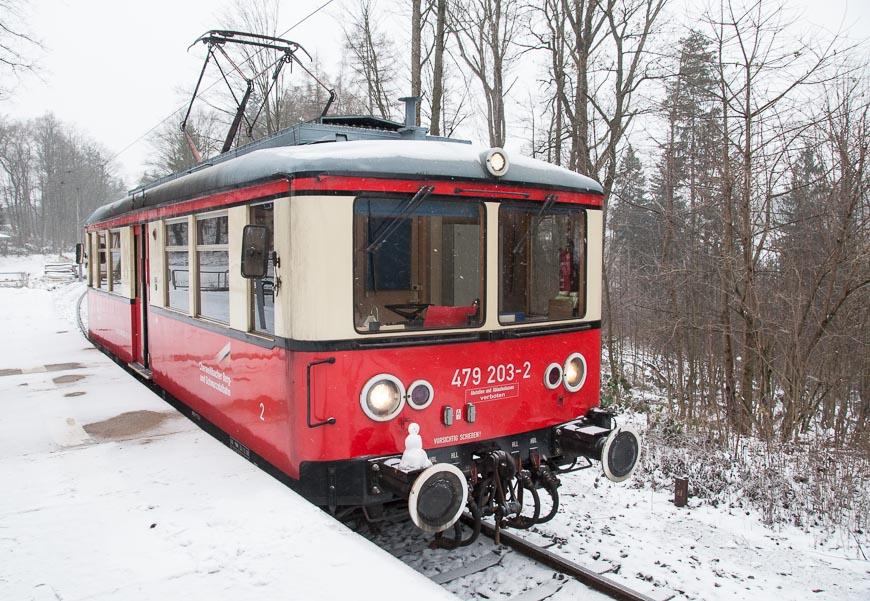 Bild: Oberweissbacher Bergbahn - Flachstrecke