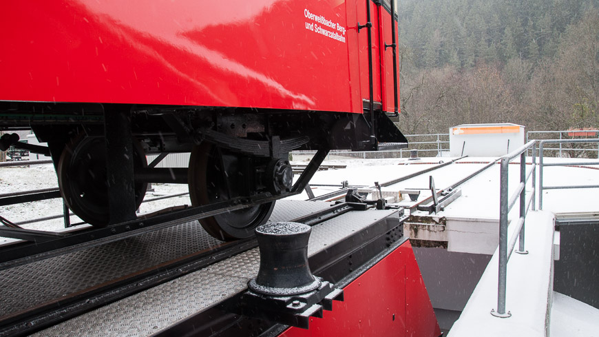 Bild: Oberweißbacher Bergbahn - Drehscheibe Talstation
