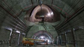 Bild: Baustelle Bahnhof HaUma in Jerusalem