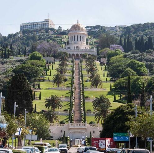 bild: Bahai Gärten in Haifa