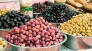Oliven am Carmel Markt