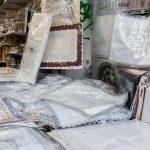 Textilien und Haushaltswaren am Carmel Markt