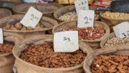 Nüsse am Lewinsky Market