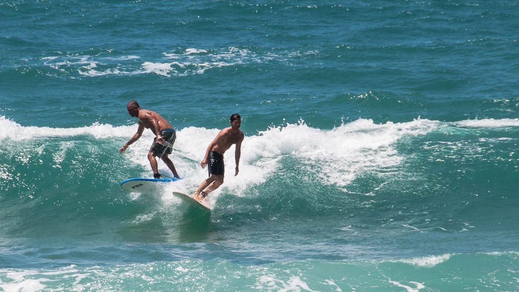 Surfer in Tel Aviv