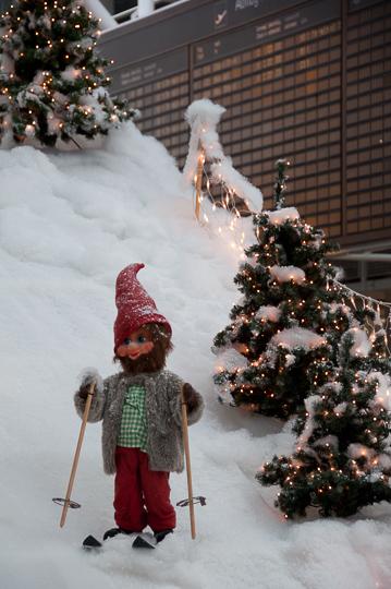 Flughafen München zu Weihnachten