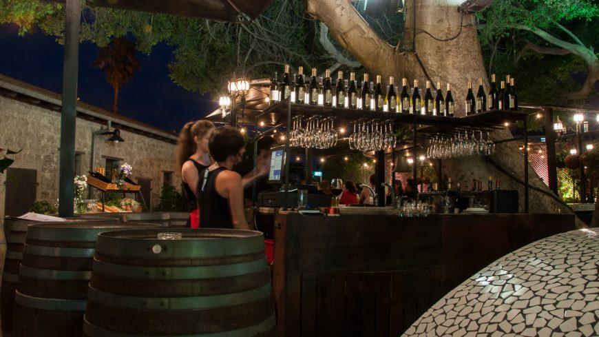 Restaurant Vicki Christina im Hatachana Compound in Jaffa