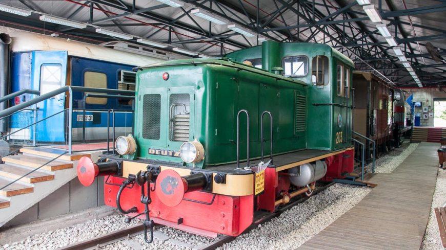 Deutz Lokomotive im Israelischen Eisenbahnmuseum