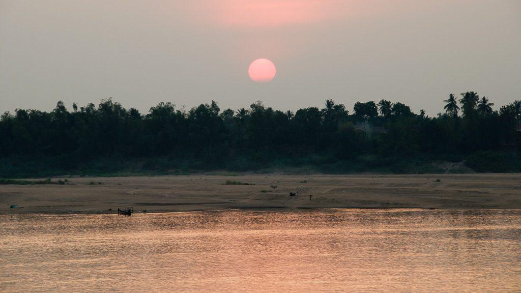 Der Mekong bei Kratie