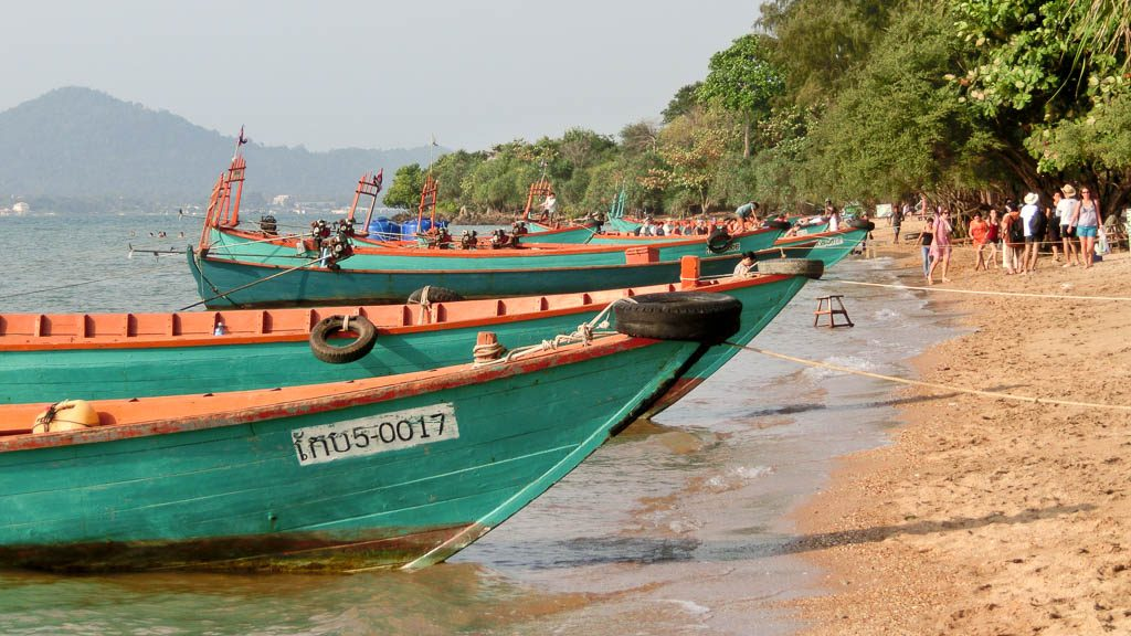 Rabbit Island in Kambodscha