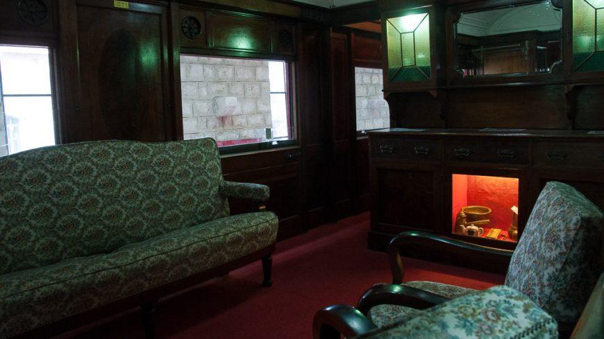 Salonwagen im Israelischen Eisenbahnmuseum