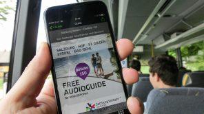 Linie 150: Sightseeing-Busfahrt mit Audioguide (Salzburg – BadIschl)