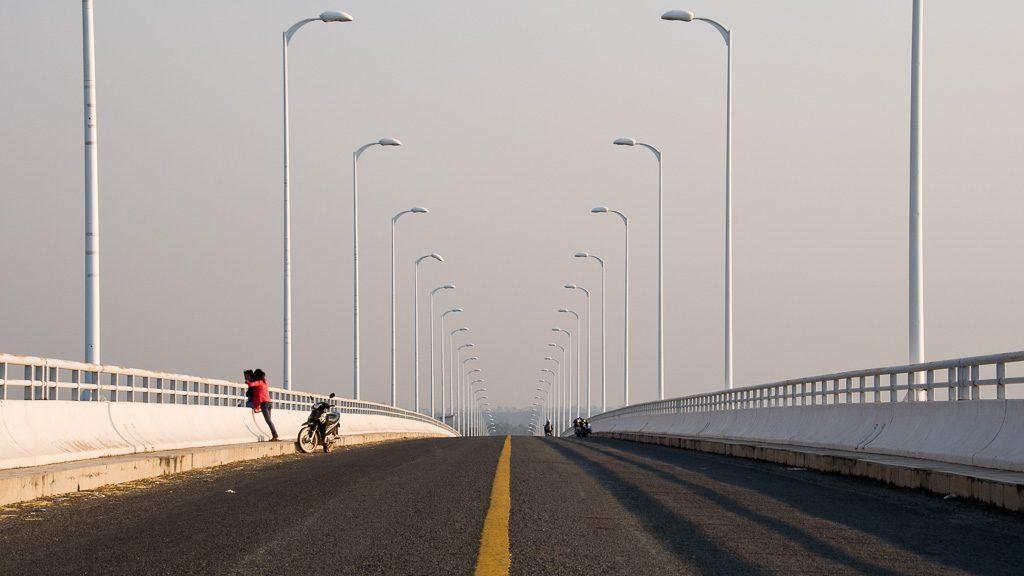 Sekongbrücke bei Stung Treng in Kambodscha