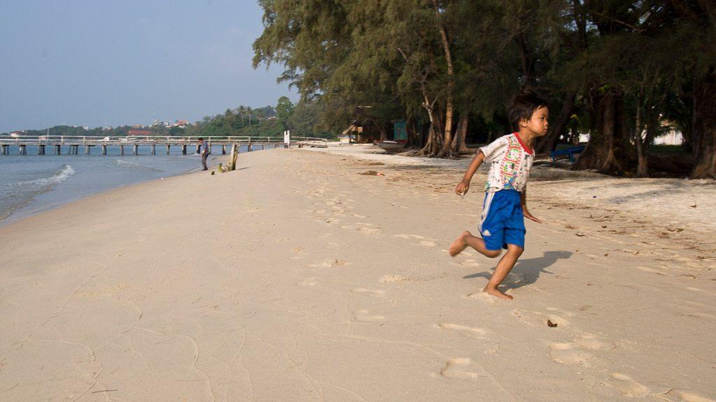Strand in Sihanoukville