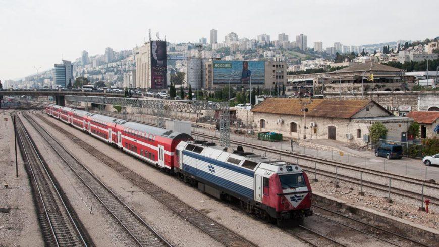 Zug in Haifa