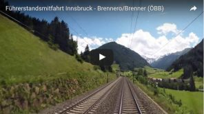 Vorschaubild Video Führerstandsmitfahrt Innsbruck - Brenner