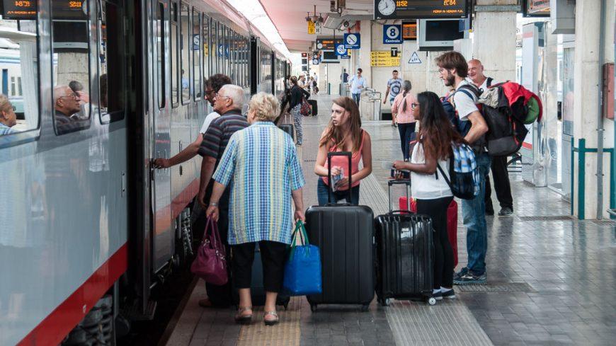 DB-ÖBB Eurocity in Bologna Centrale