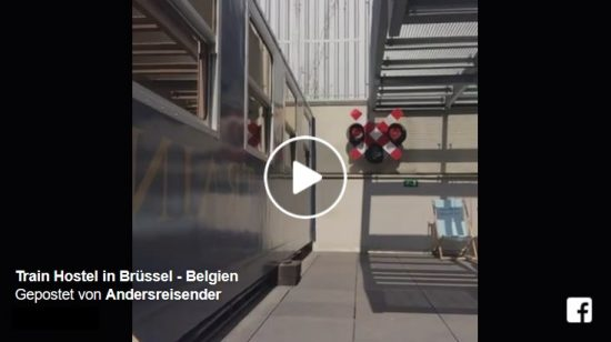 Live-Video Train-Hostel Brüssel