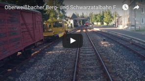 [Video] Oberweißbacher Berg- und Schwarzatalbahn: Führerstandsmitfahrt Flachstrecke