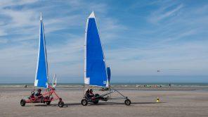 Land Yacht Sailing: Segelabenteuer am Strand