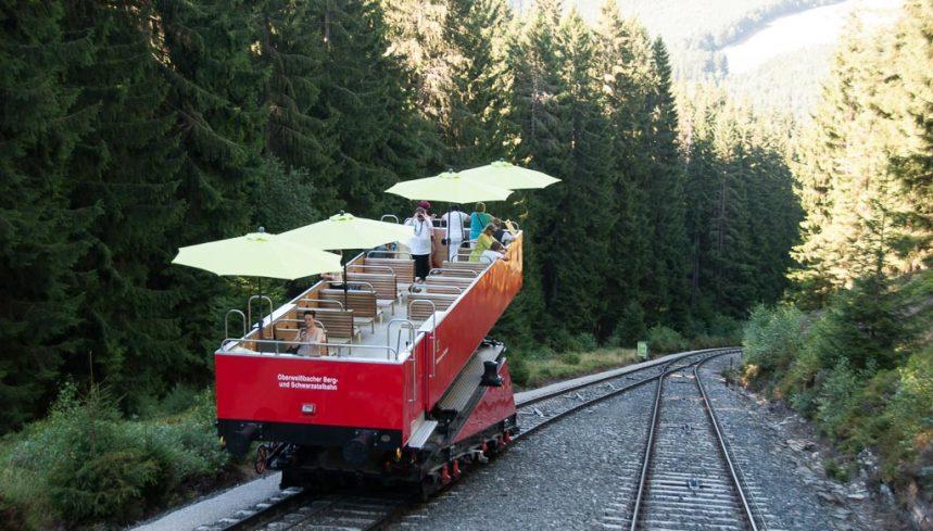 Oberweißbacher Bergbahn Cabrio Waggon