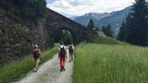 Aquädukt an der alten Tauernbahntrasse