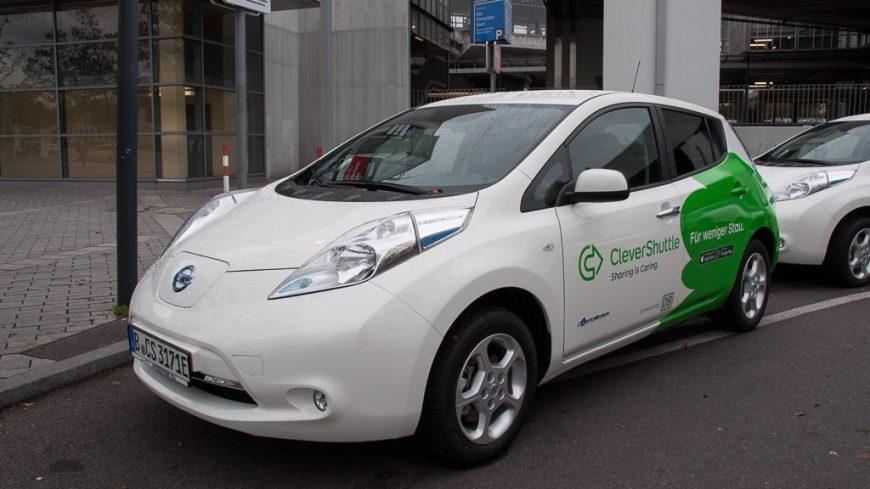 CleverShuttle Elektroauto